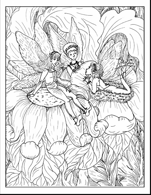 Astounding Fairys And Ies Coloring Pages With Fairy Coloring Pages For  Adults And Goth Fairy Coloring