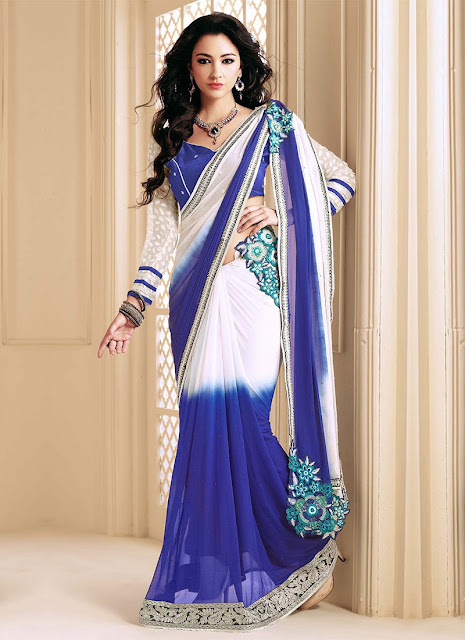 Butterfly Saree Draping Style
