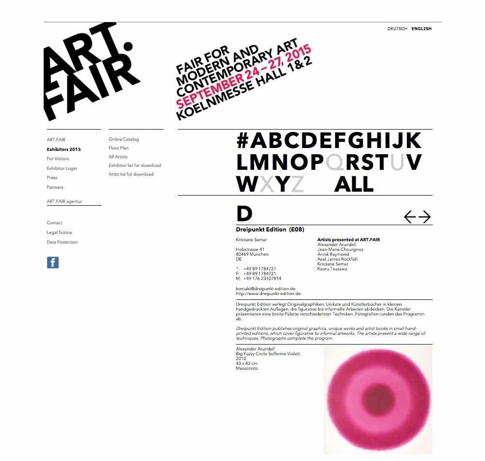 Art Fair Cologne 15 - Artvista