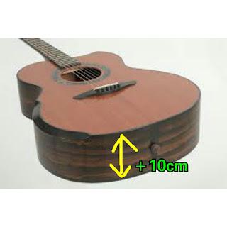 Gitar akustik yang keras itu bagus