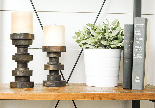 How to Make Inexpensive Pillar Candle Holders