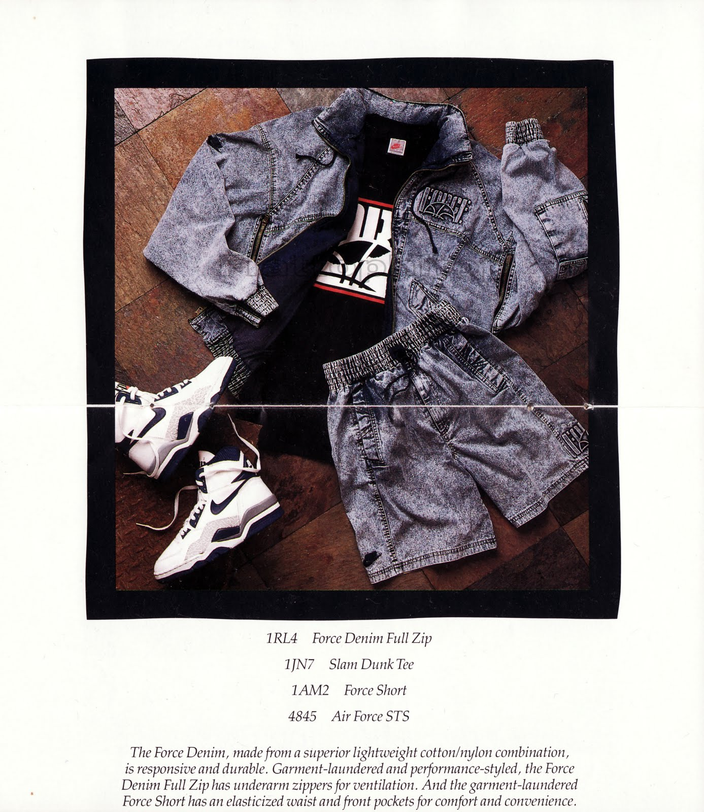 reputable site 87a0f cb8c9 NIKE BASKETBALL CATALOG (1990)