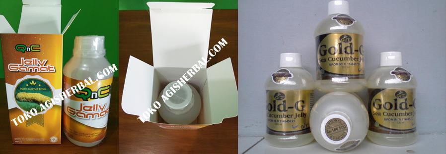 Perbedaan Jelly Gamat Gold G dengan QNC Jelly Gamat
