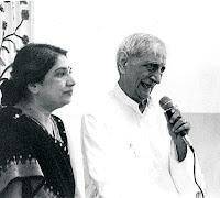 Smt. Hansaji and Dr. Jayadeva Yogendra