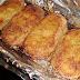 Parmesan Baked bacon Chops