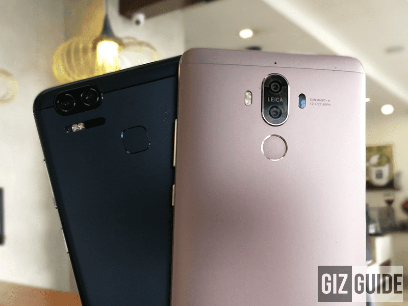 Asus ZenFone 3 Zoom Vs Huawei Mate 9 - Zoom Comparison!