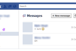 View Archived Messages Facebook App