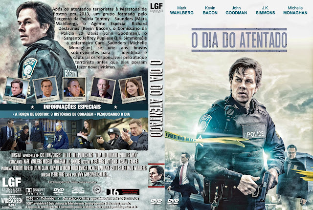 Capa DVD O Dia Do Atentado [Exclusiva]