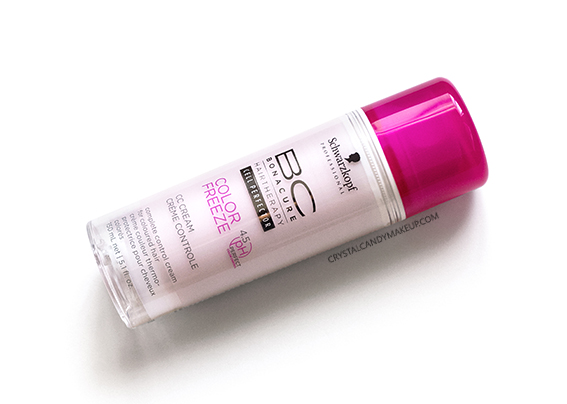 Schwarzkopf Professional BC Color Freeze CC Cream Review