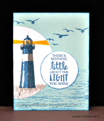 Tuesday Tutorial, Stamp with Trude, Stampin' Up!, High Tide, greeting card