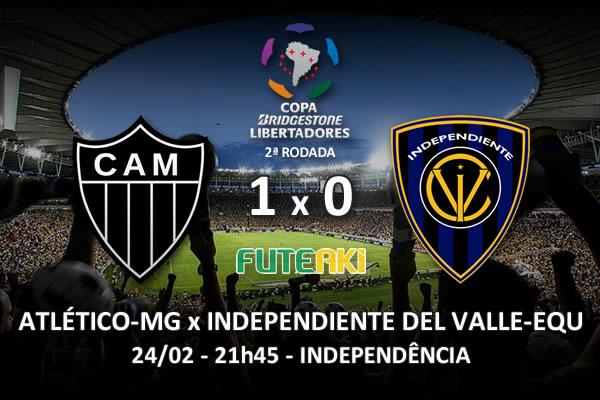 Veja o resumo da partida com o gol e os melhores momentos de Atlético-MG 1x0 Independiente del Valle-EQU pela 2ª rodada da Copa Libertadores da América 2016.