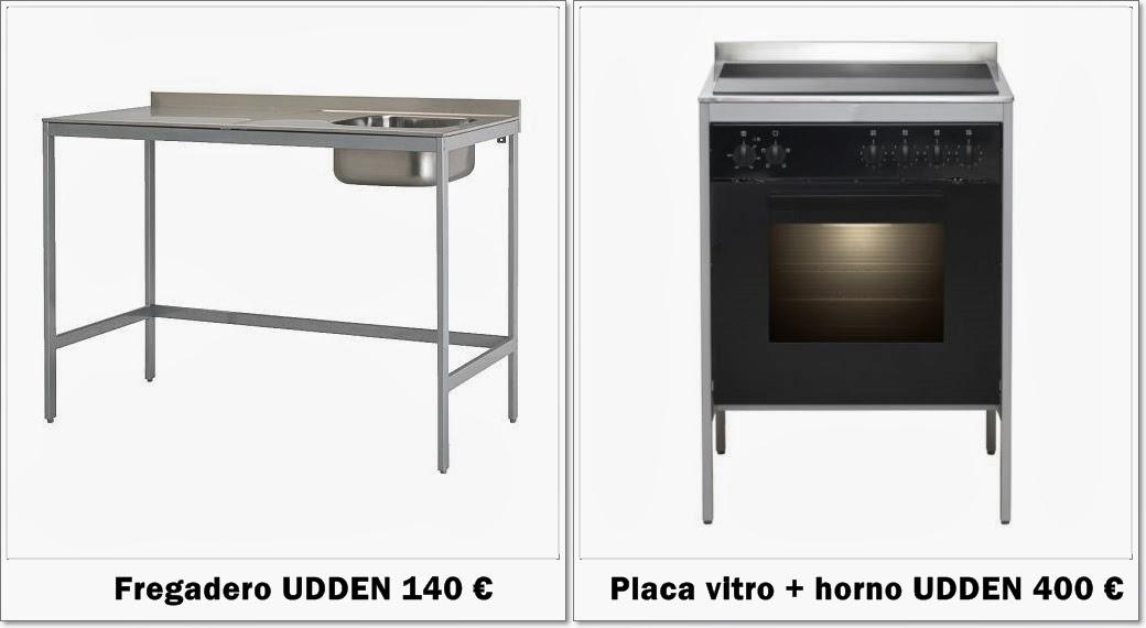habitambientes una cocina por menos de euros. Black Bedroom Furniture Sets. Home Design Ideas