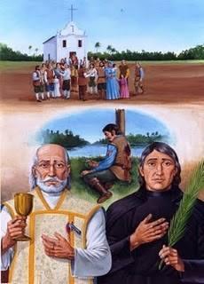 Canonização dos Protomártires de Cunhaú e Uruaçu, os primeiros mártires do Brasil
