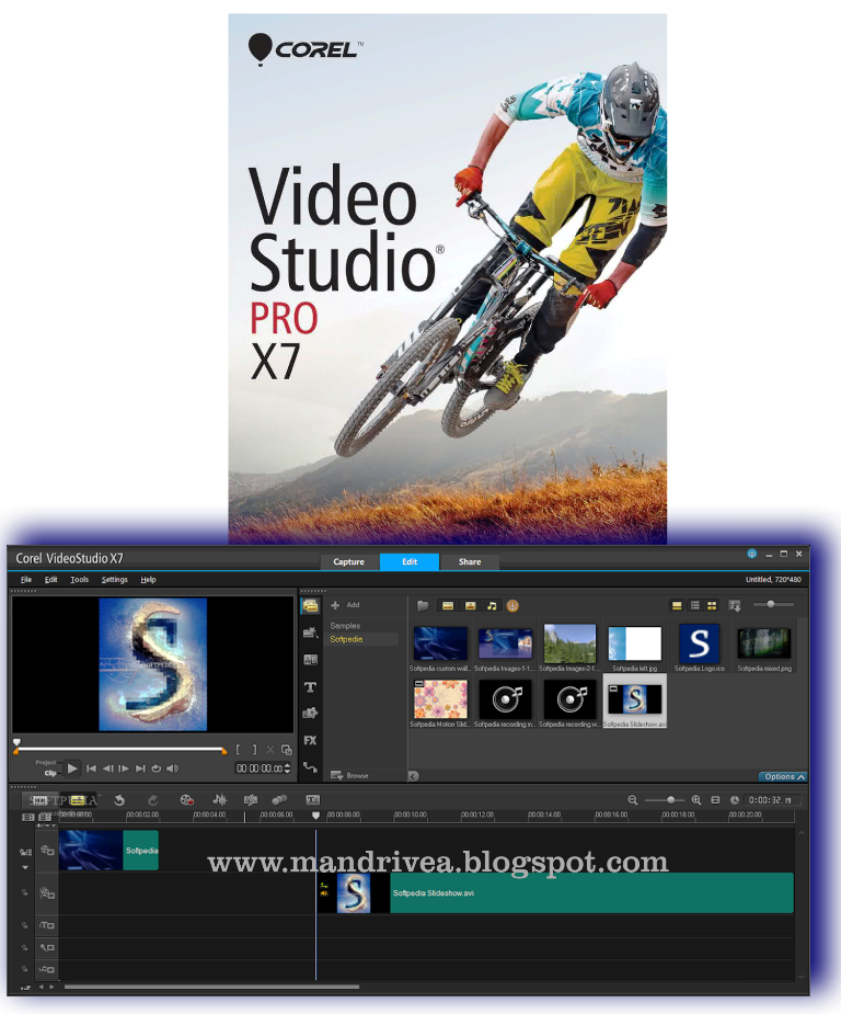 Download gratis Corel Video Studio x7 2015 full
