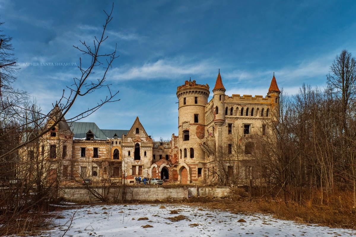 Фотография, как медитация!: Руины замка Храповицкого, Муромцево