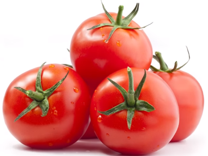Keep tomatoes in a cool dry place until ripe, then put them in the fridge.