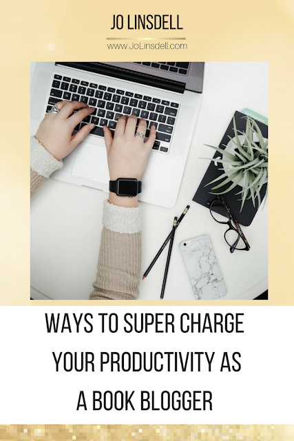 Ways To Super Charge Your Productivity As A Book Blogger