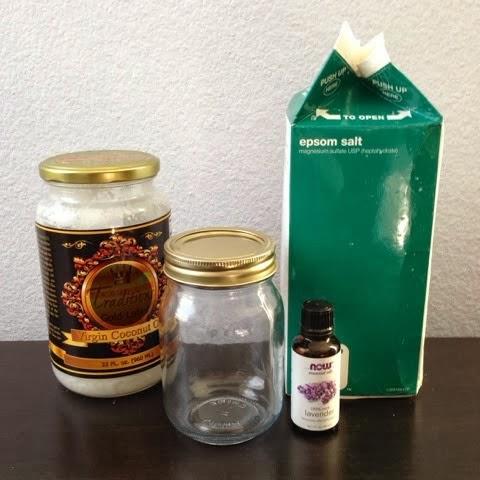 DIY 3 Ingredient Salt Scrub