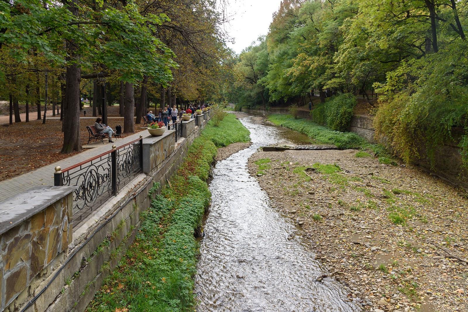 Река Ольховка. Кисловодск