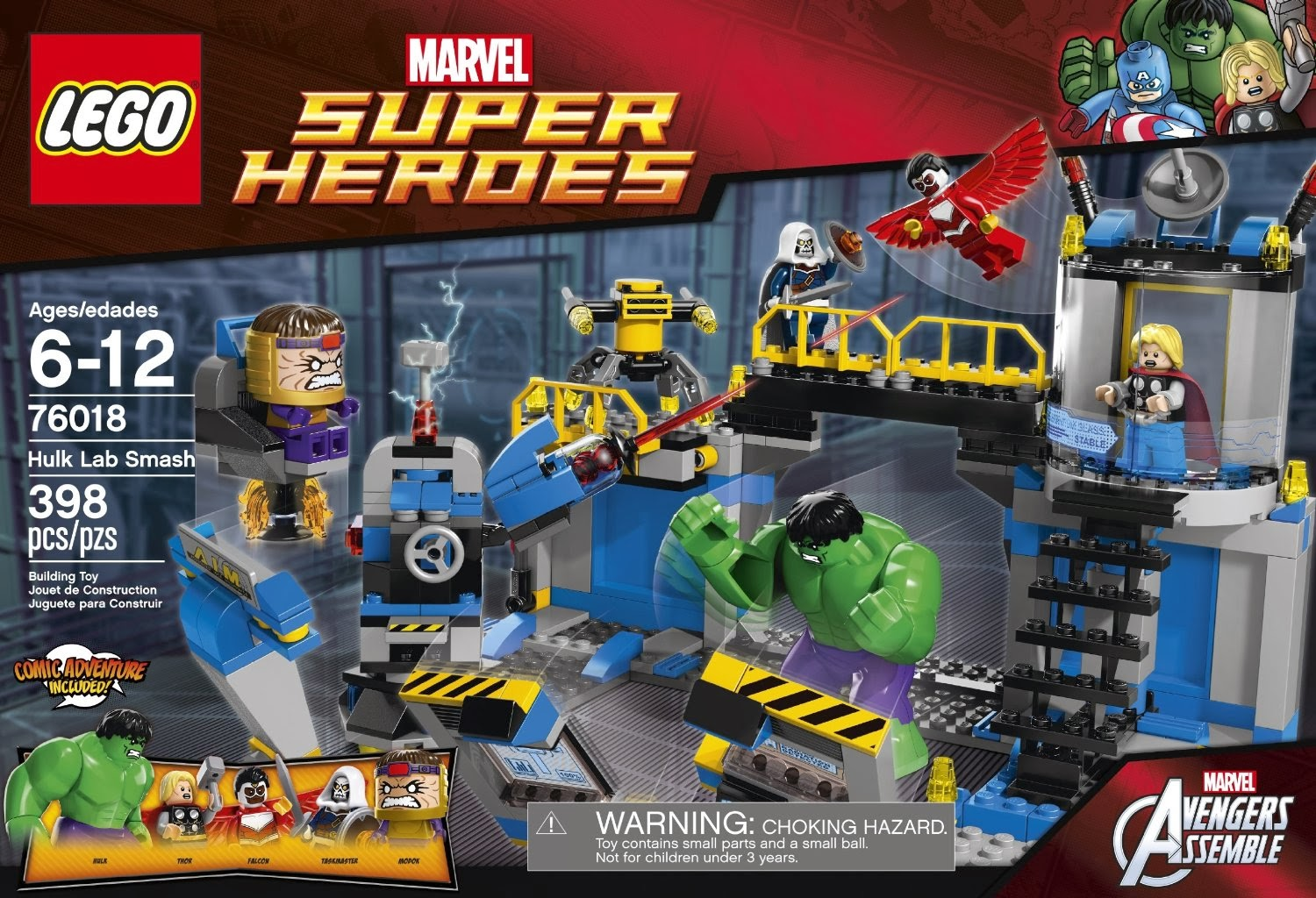 The Minifigure Collector: Lego - Marvel Super Heroes ...