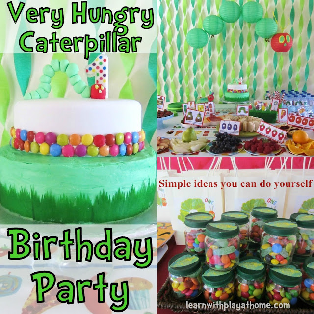 very hungry caterpillar birthday, first birthday