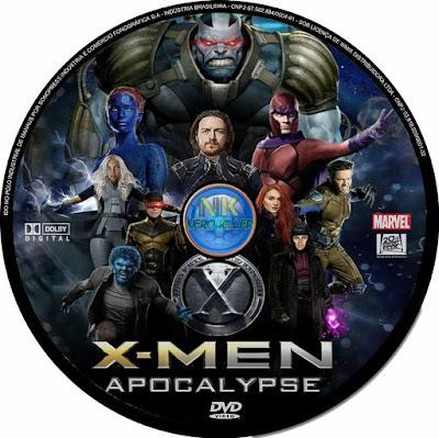 Label DVD X-Men Apocalypse