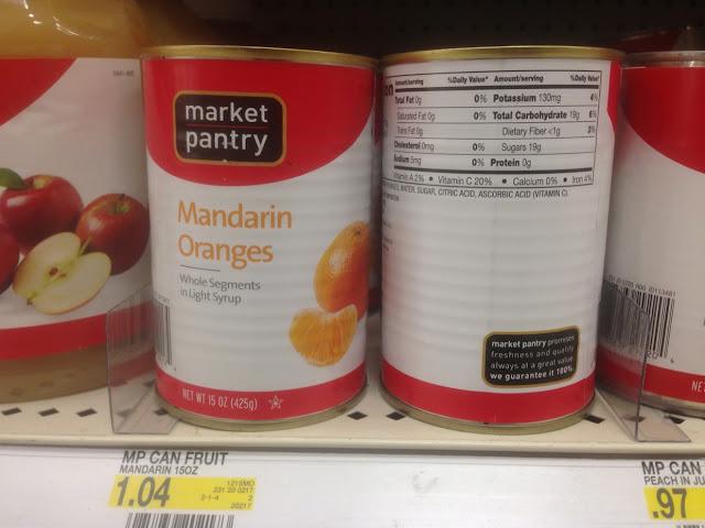 Mandarin Oranges, Market Pantry - Target
