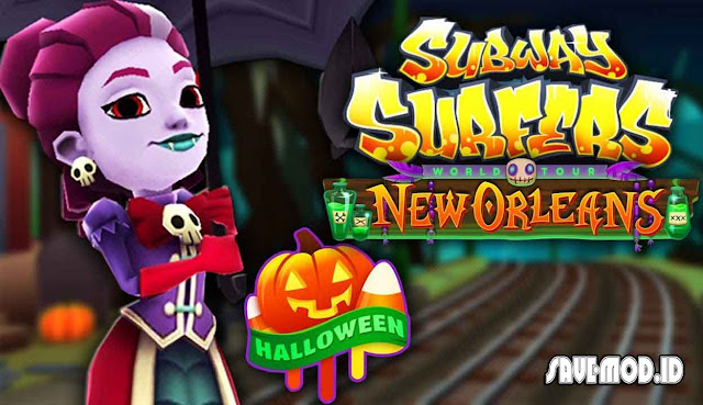 Subway Surfers Halloween MOD APK 1.15.0 for Android Unlimited Coins