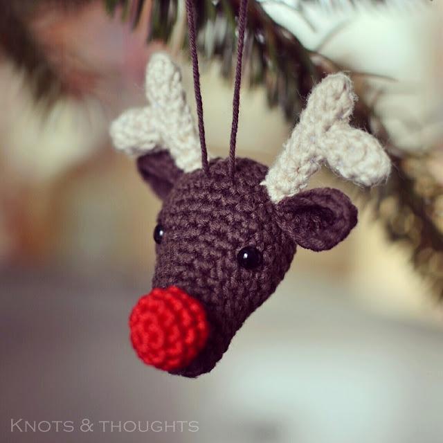 Haakpatroon Rudolf Kersthanger