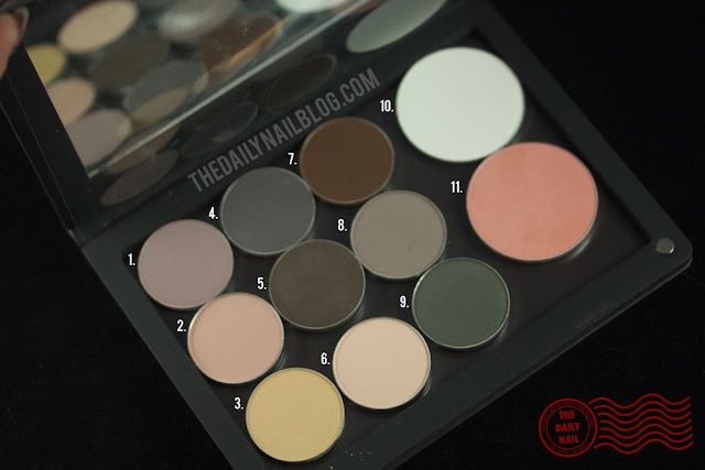 curated collection, ittse, eyeshadow palette