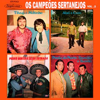 V. A. -  Os Campeões Do Sertão - Vol. 2 - (1973)