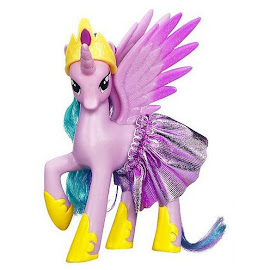 MLP Crystal Princess Ponies Collection Princess Celestia Brushable Pony