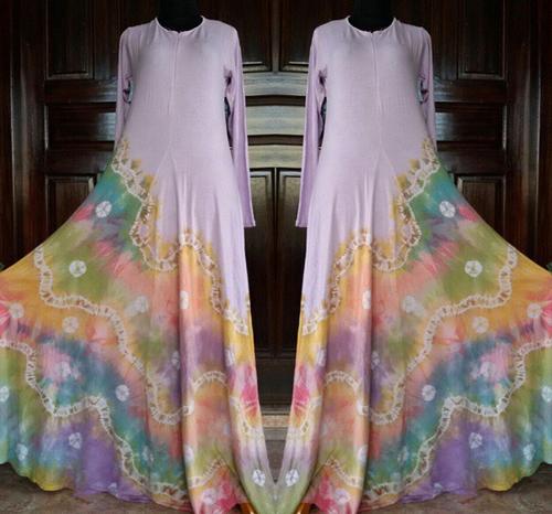 contoh model baju sasirangan