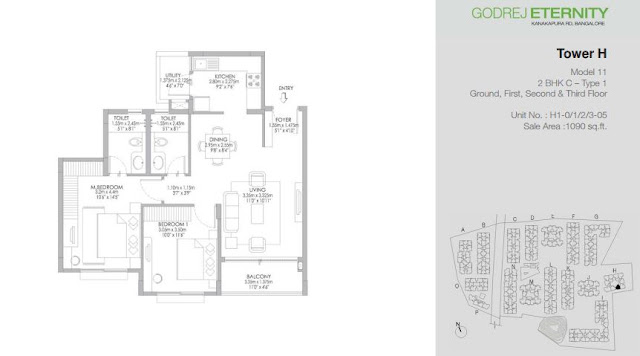 Godrej Eternity Kanakapura Road Floor Plans