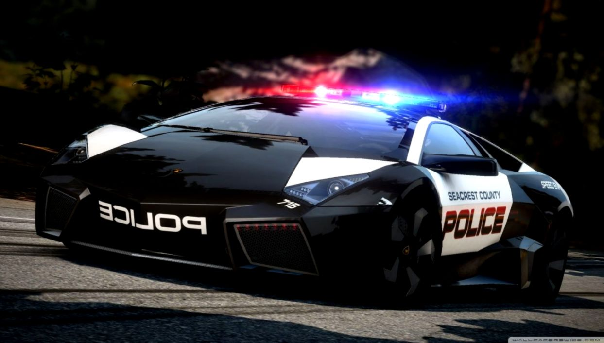 Need For Speed Hot Pursuit Lamborghini Police Car Hd Desktop