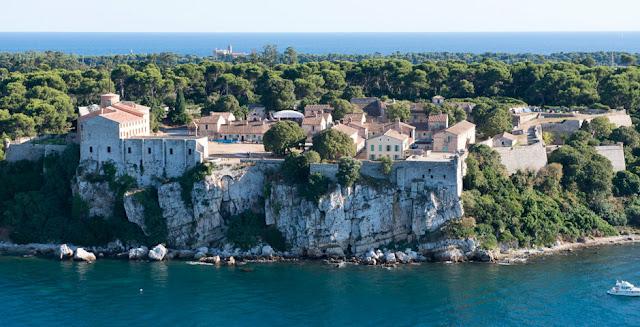 Ilha Île Sainte-Marguerite em Cannes