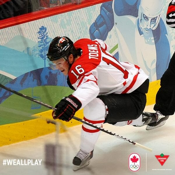 Canadian Tire Congratulates Jonathan Toews and Team Canada's Olympic Gold Medal