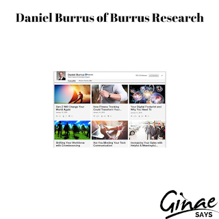 Daniel Burrus of Burrus Research: January, 2016