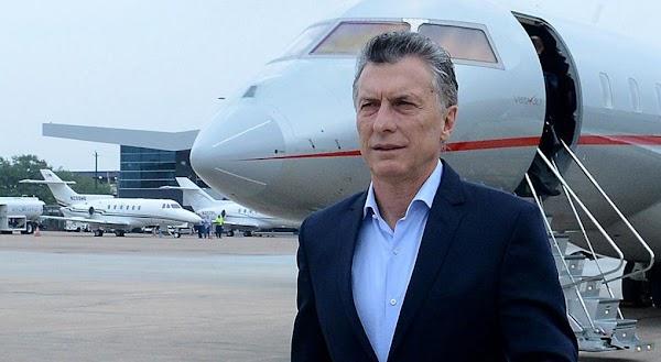 Macri inicia un viaje por Rusia, Suiza y Francia