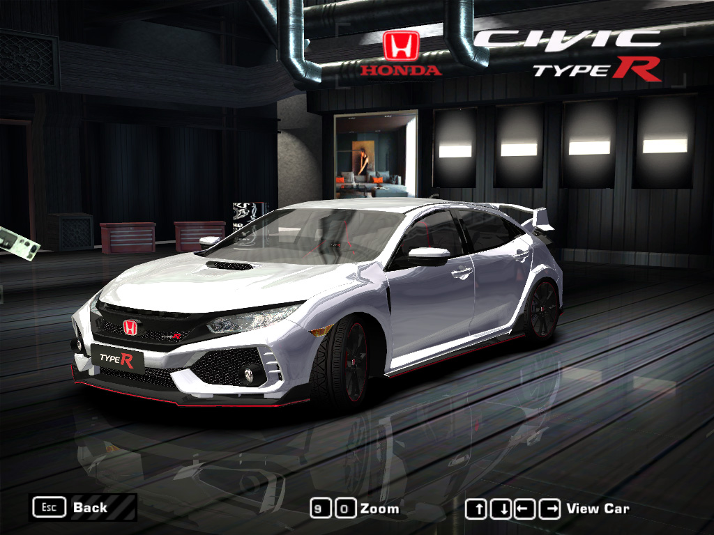 Need For Sd Most Wanted Mod 2017 Honda Civic Type R By Play18 2005 Black Edition Category