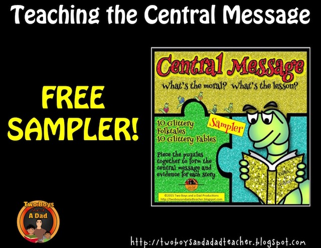 central message puzzle cards sampler