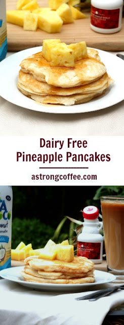 These American Style pancakes are dairy free and use coconut milk and coconut oil.