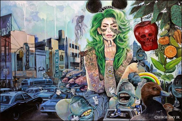 ilustrador, ilustração, artista plástico, designer gráfico, design, arte, pop art, Serge Gay Jr.,