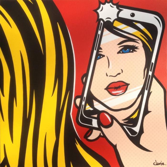 Картины в стиле поп-арт. James Lee