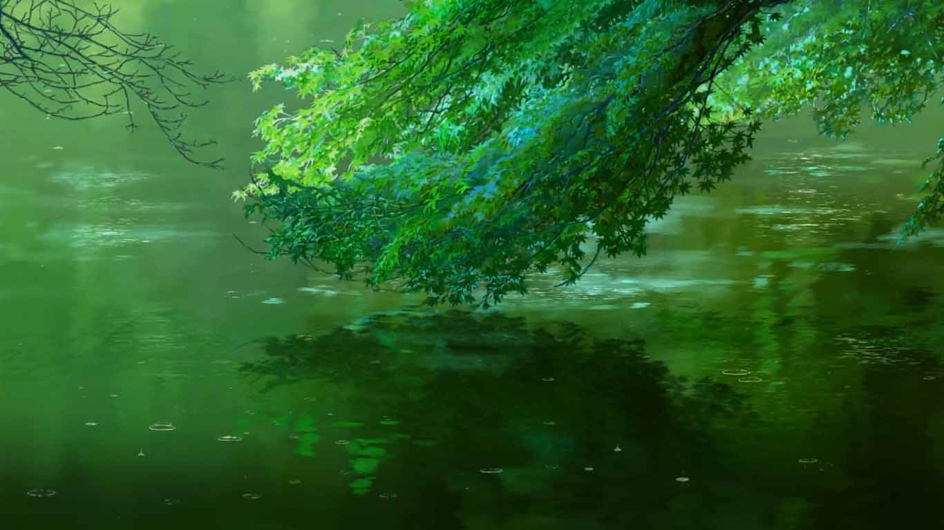 Download The Garden Of Words Rainy Pool Wallpaper Engine Free Download Wallpaper Engine Wallpapers Free