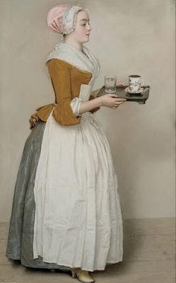 Jean-Étienne Liotard, La bella cioccolataia