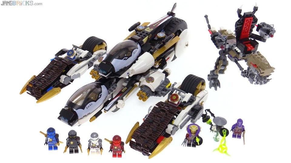 lego ninjago 2016 ultra stealth raider review 70595