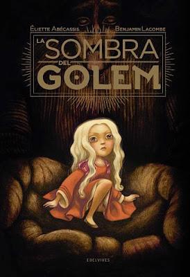 La sombra del Golem - Edelvives -  Benjamin Lacombe - reseña - Marieta Pancheva