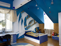 Blue Color for Bedroom to Give Calm and Peaceful Atmosphere