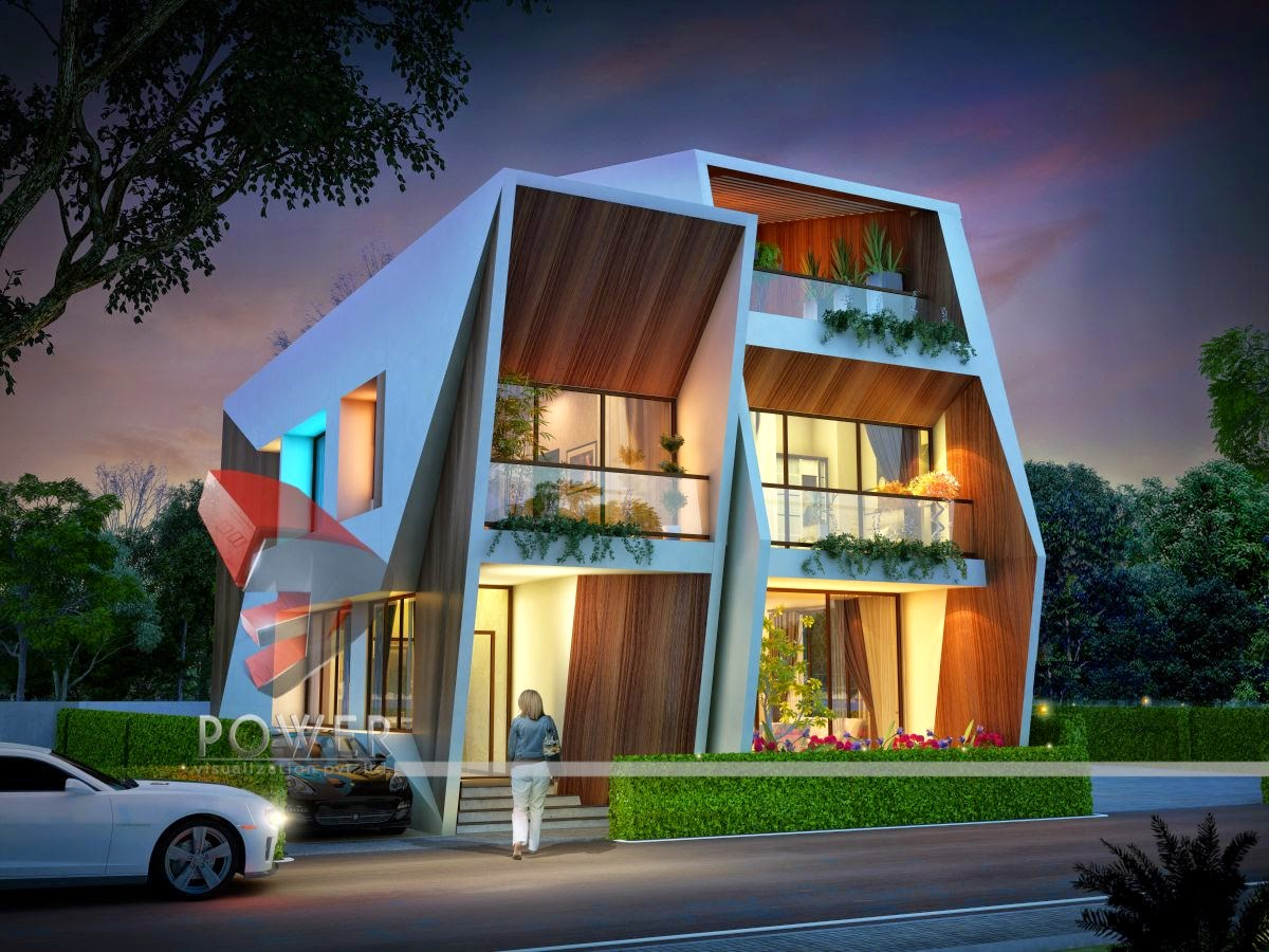 3D Township Design Villas